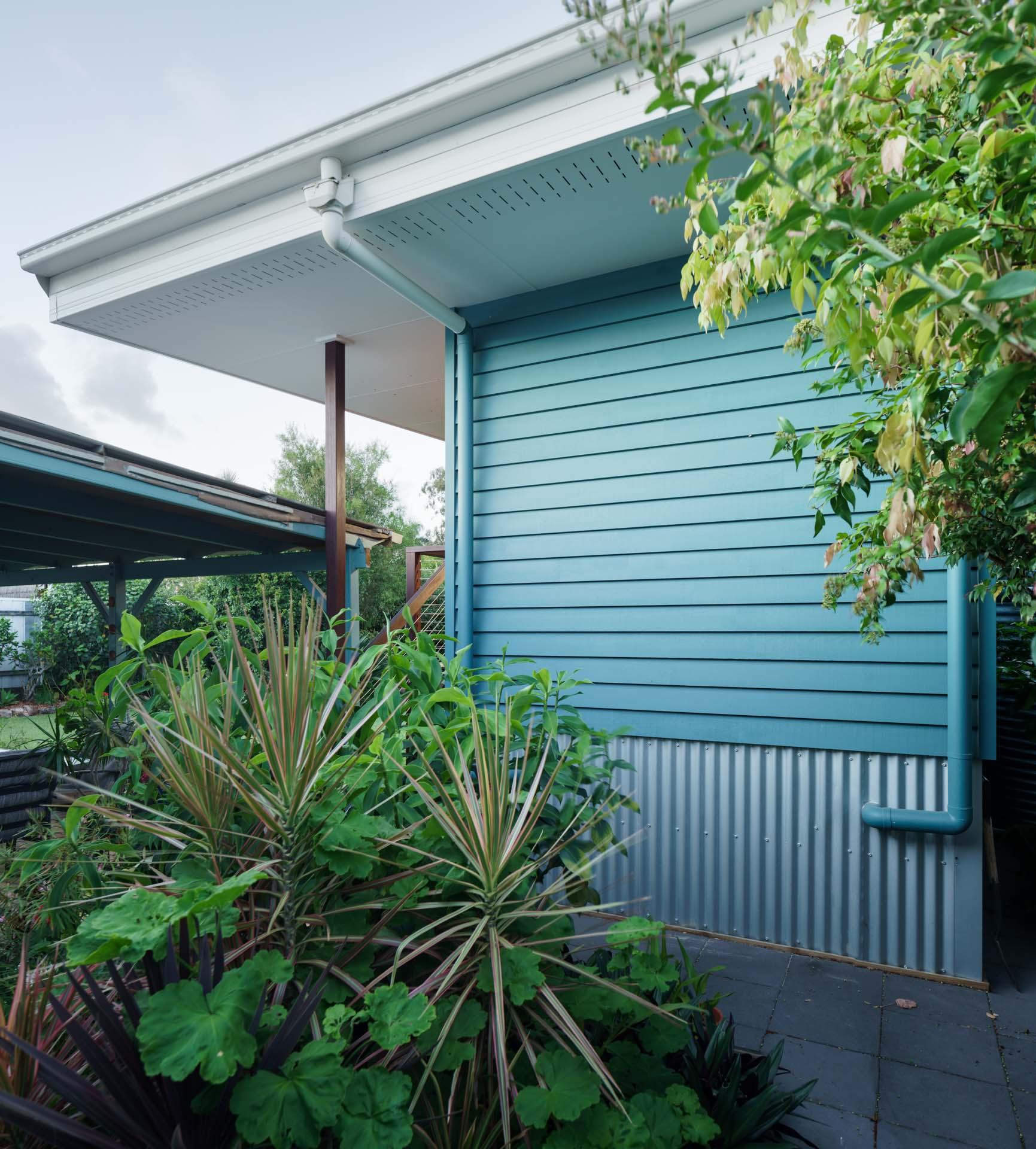 Australian home with eco materials
